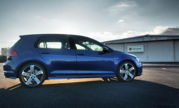 2016 VW Golf R Lapiz Blue by Lyndon Johnson 9