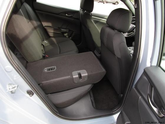 2017 Honda CIVIC Sport Hatchback Cargo Area 22