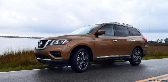 2017 Nissan Pathfinder Platinum 4WD 5