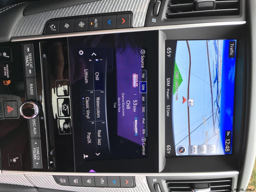 2017 INFINITI Q60 Red Sport 400 - Interior Photos 11