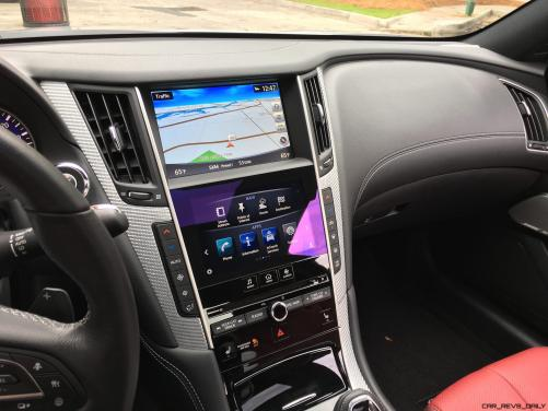 2017 INFINITI Q60 Red Sport 400 - Interior Photos 3