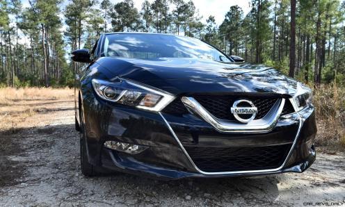 2017 Nissan Maxima SR Midnight Edition 11