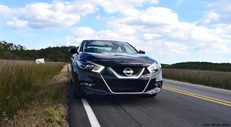2017 Nissan Maxima SR Midnight Edition 34