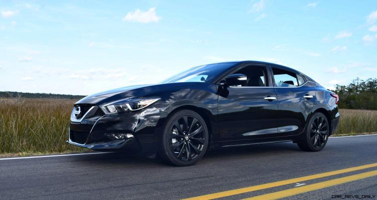 2017 Nissan Maxima SR Midnight Edition 46