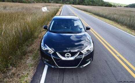 2017 Nissan Maxima SR Midnight Edition 49