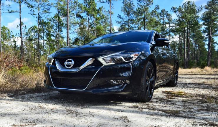 2017 Nissan Maxima SR Midnight Edition 5