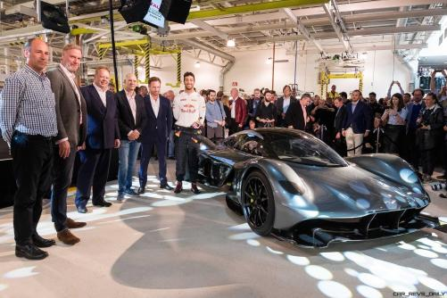 Aston Martin and Red Bull Racing unveil radical AM-RB 001 (Credits Aston Martin