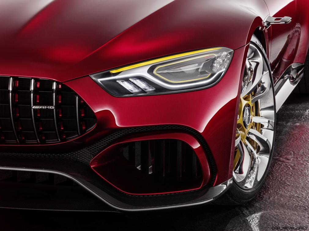 Showcar Mercedes-AMG GT Concept ; Showcar Mercedes-AMG GT Concept;