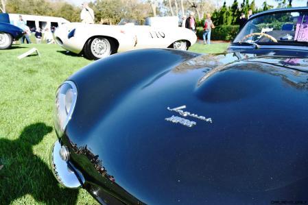 1957 Jaguar XKSS 716 at Amelia Island Concours 12