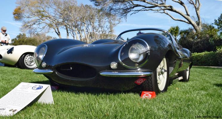 1957 Jaguar XKSS 716 at Amelia Island Concours 17
