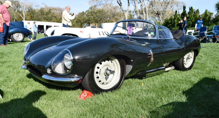 1957 Jaguar XKSS 716 at Amelia Island Concours 19