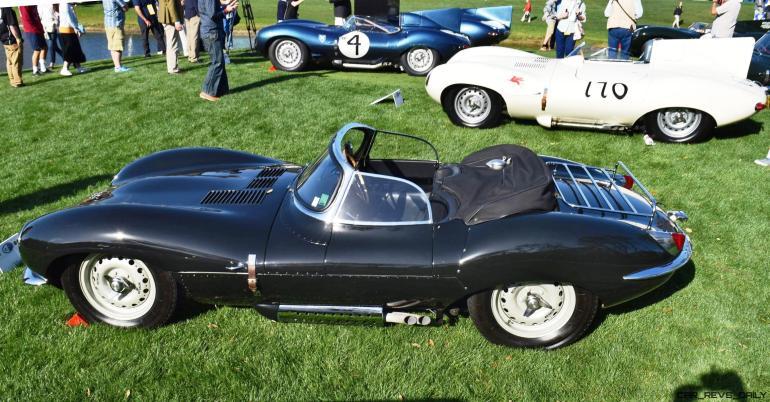 1957 Jaguar XKSS 716 at Amelia Island Concours 20