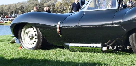 1957 Jaguar XKSS 716 at Amelia Island Concours 22