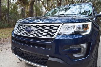2017 Ford Explorer PLATINUM Exterior 11