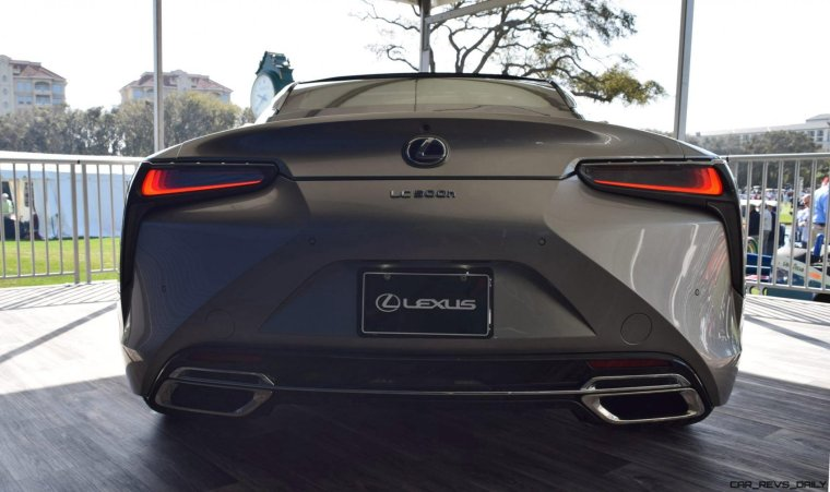 2018 Lexus LC500h Exterior Amelia 23