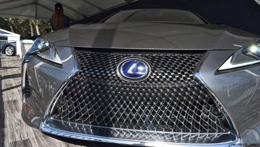2018 Lexus LC500h Exterior Amelia 6