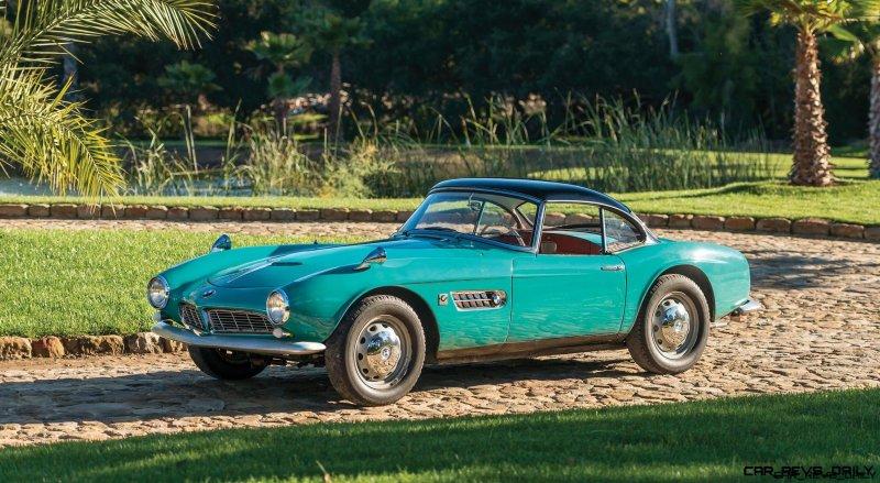 1957 BMW 507 Roadster Series I - RM Sotheby's Villa Erba 2017 1