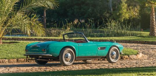 1957 BMW 507 Roadster Series I - RM Sotheby's Villa Erba 2017 2