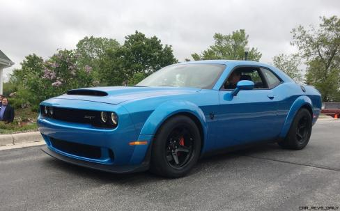 2018 Dodge DEMON SRT Challenger 3