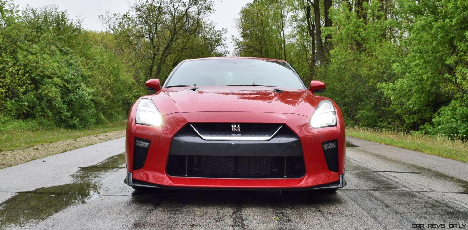 2017 Nissan GT-R Review 53