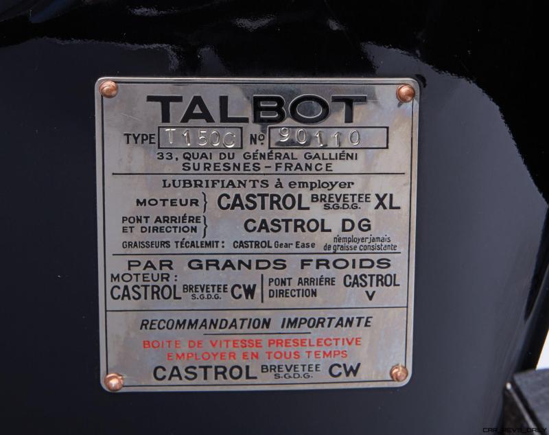 1937 Talbot-Lago T150-C SS 10