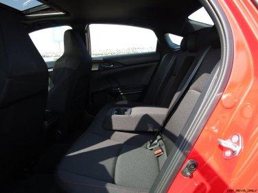 2017 Honda Civic Si Sedan INTERIORS 15