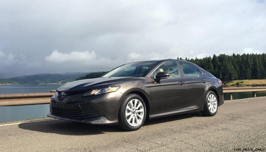 2018 Toyota Camry LE By Zeid Nasser 1
