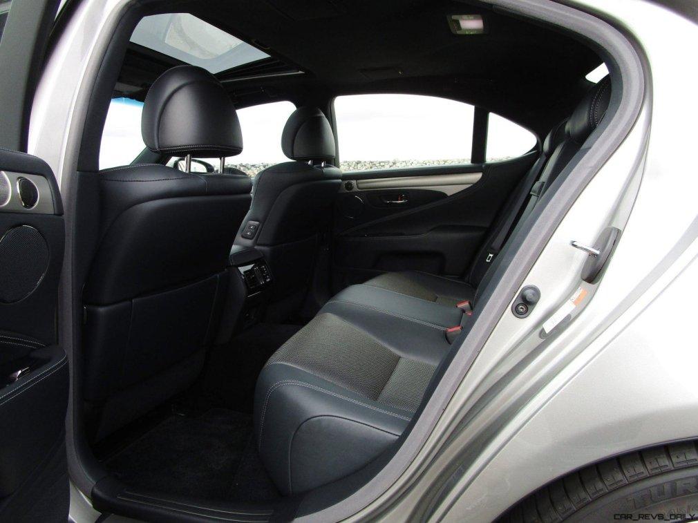 2017 Lexus LS460 F Sport Interiors 25