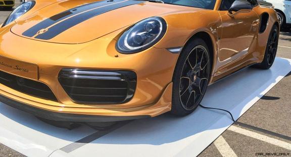 2018 Porsche 911 Turbo S Exclusive Series 5