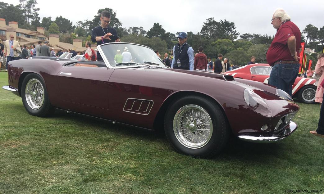 2017 Ferrari 70 Anni Collection at Pebble Beach Concours 100