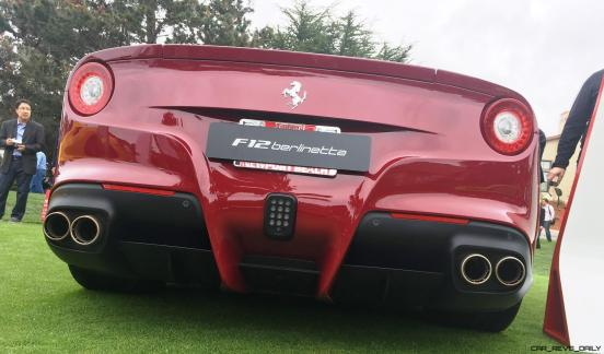 2017 Ferrari 70 Anni Collection at Pebble Beach Concours 24
