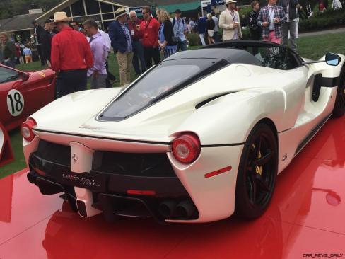 2017 Ferrari 70 Anni Collection at Pebble Beach Concours 35