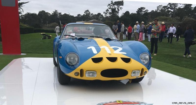 2017 Ferrari 70 Anni Collection at Pebble Beach Concours 50