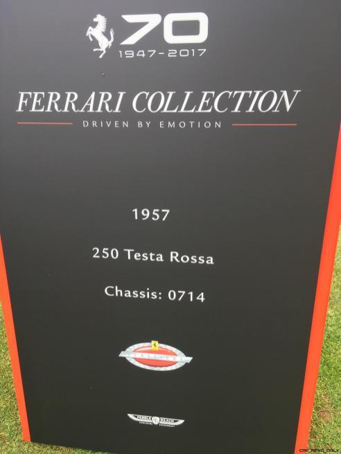 2017 Ferrari 70 Anni Collection at Pebble Beach Concours 77