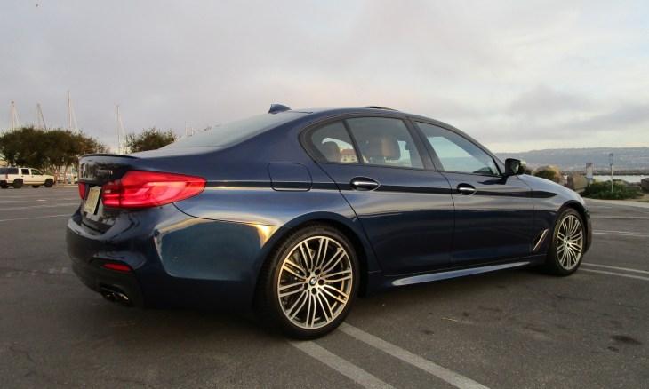 2018 BMW M550i xDrive Sedan Ben Lewis 15