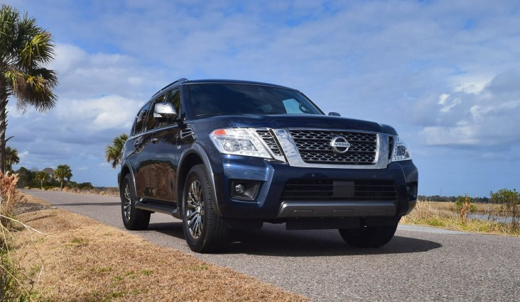 2018 Nissan ARMADA Platinum Reserve 1