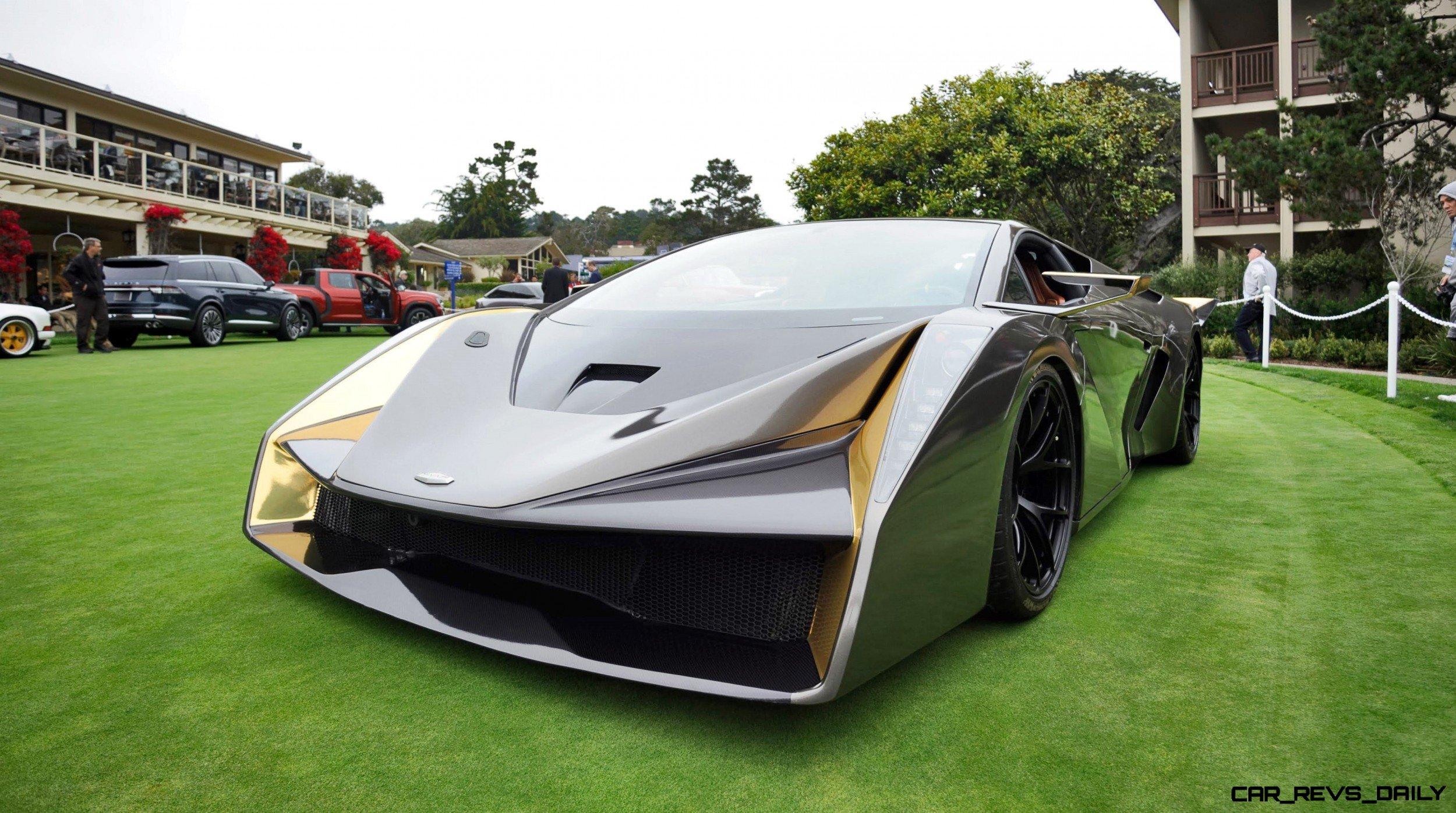 2018 SALAFF C2 Supercar Concept 12