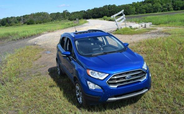 2018 Ford EcoSport Titanium AWD 23