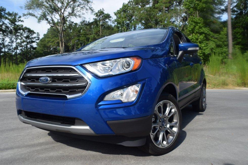2018 Ford EcoSport Titanium AWD 5