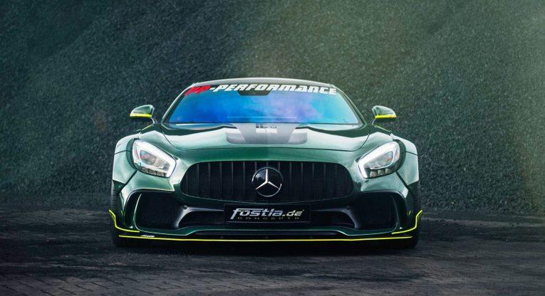 Widebody AMG GTS in Emerald Green 14