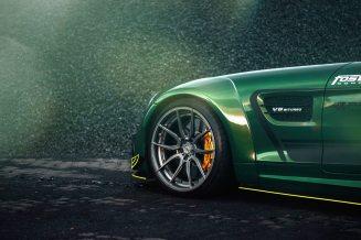 Widebody AMG GTS in Emerald Green 6