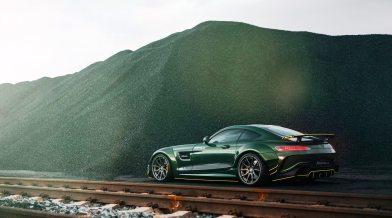 Widebody AMG GTS in Emerald Green 7