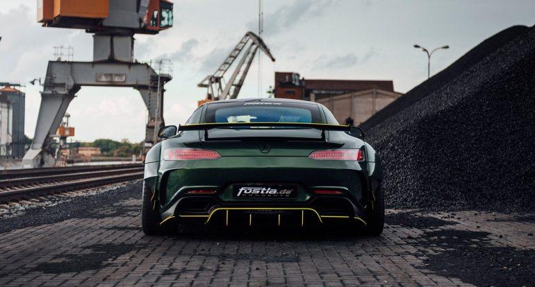 Widebody AMG GTS in Emerald Green 9