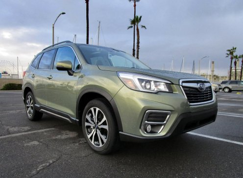 2019 Subaru Forester Limited 3