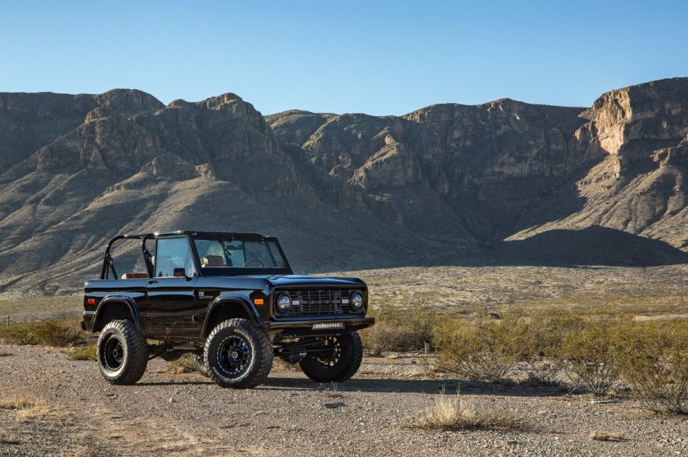 1969 Ford Bronco Supercharged by Velocity Restorations 7