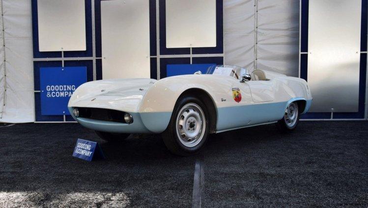 1955 ABARTH 207A Speedster - Gooding Amelia 2019 Favorites 9