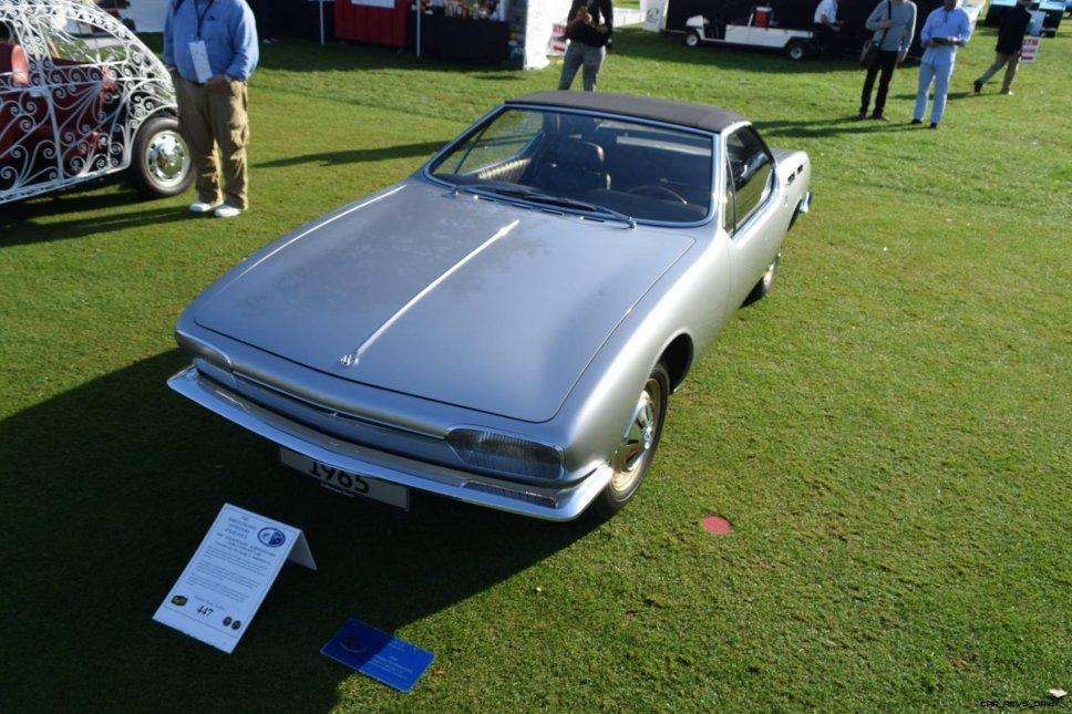 1965 Volkswagen Karmann-Ghia Type 1 Concept - Amelia Concours 2019 24