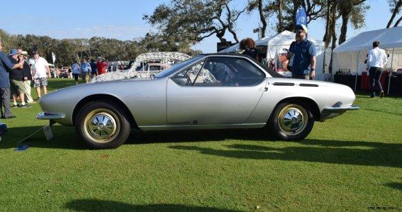 1965 Volkswagen Karmann-Ghia Type 1 Concept - Amelia Concours 2019 9