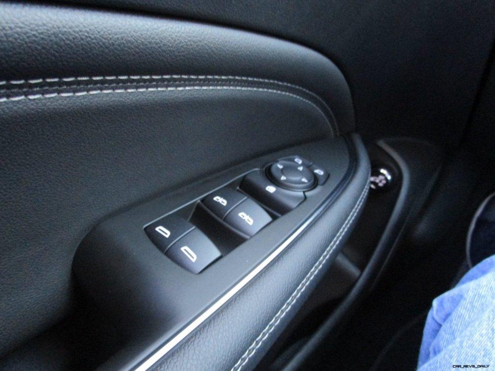 2019 Buick Regal TourX Essence AWD Interior Photos Ben Lewis 19