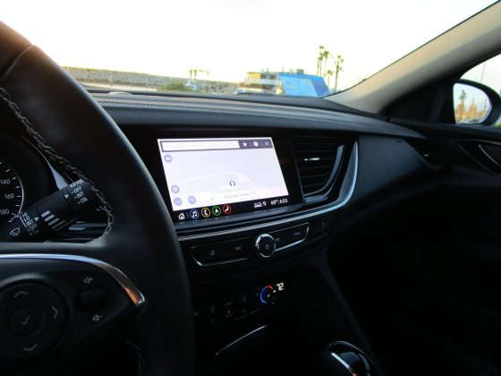 2019 Buick Regal TourX Essence AWD Interior Photos Ben Lewis 21